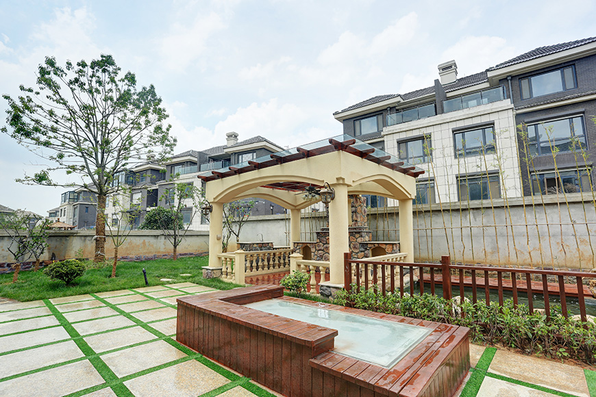 南大和园别墅园林设计