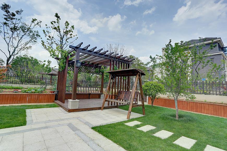 南大和园别墅花园设计