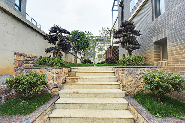 一步一景,花园台阶可以这样设计?