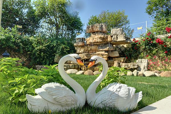 上海庭院假山如何摆放,风水好?