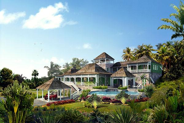 别墅花园景观设计
