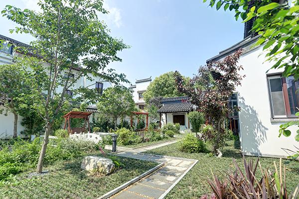 上海庭院的聚财风水